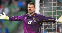 On rentre pas Shay Given (photo The Sun)